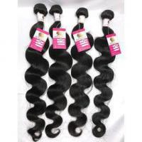 Buy cheap 100% Pure Virgin Peruvian Hair Extensions Body Wave Hair Weave 4Bundles Long Hair #96461 from wholesalers
