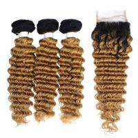 Buy cheap Vvwig Brazilian Unprocessed Hair 10A Grade 1B 27 Ombre Hair Premium 3 Bundles from wholesalers