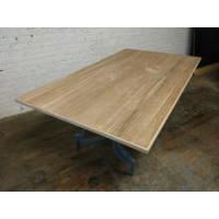 China VANGUARD FURNITURE HAND HEWN DISTRESSED CHERRY 80 x 46 SOLID WOODEN TABLE TOP on sale