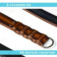 Buy cheap Strict Leather Three Layer Leather Bondage Slapping Paddle Loud Sound Slapper from wholesalers
