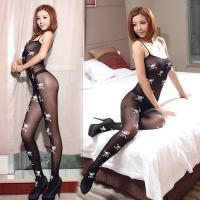 Buy cheap sheer tights Exotic Black Bodystocking Crotchless from wholesalers