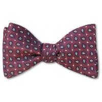 China Red Chestnut Bow Tie wholesale