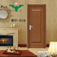 China Pvc Plastic Interior Door WFP-019 wholesale