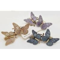China Hot Sale Spring Butterfly Hairpin Girl Hair Pin wholesale