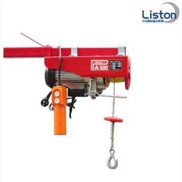 Quality Safety Tools 250kg Mini Electric Wire Rope Hoist for sale