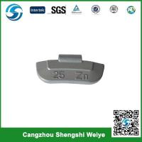 China Zn cilp on wheel weight for steel rims on sale