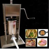 Buy cheap 10L Manual Stainless steel sausage stuffer from wholesalers