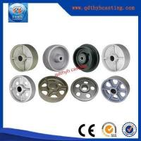 China China OEM Iron Casting Wheel With Precision Machining wholesale