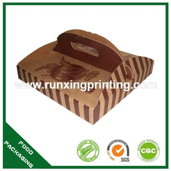 Quality pizza box with handle for sale