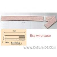 China Sewn Nylon Brush Fabric Bra Wire Case/Casing UW9J-02 wholesale