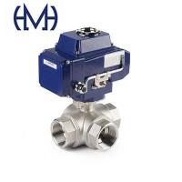 Buy cheap Automated Stainless steel 3way Thread Ball Valve from wholesalers