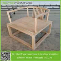 China wholesale unfinished wooden living room chairs on sale