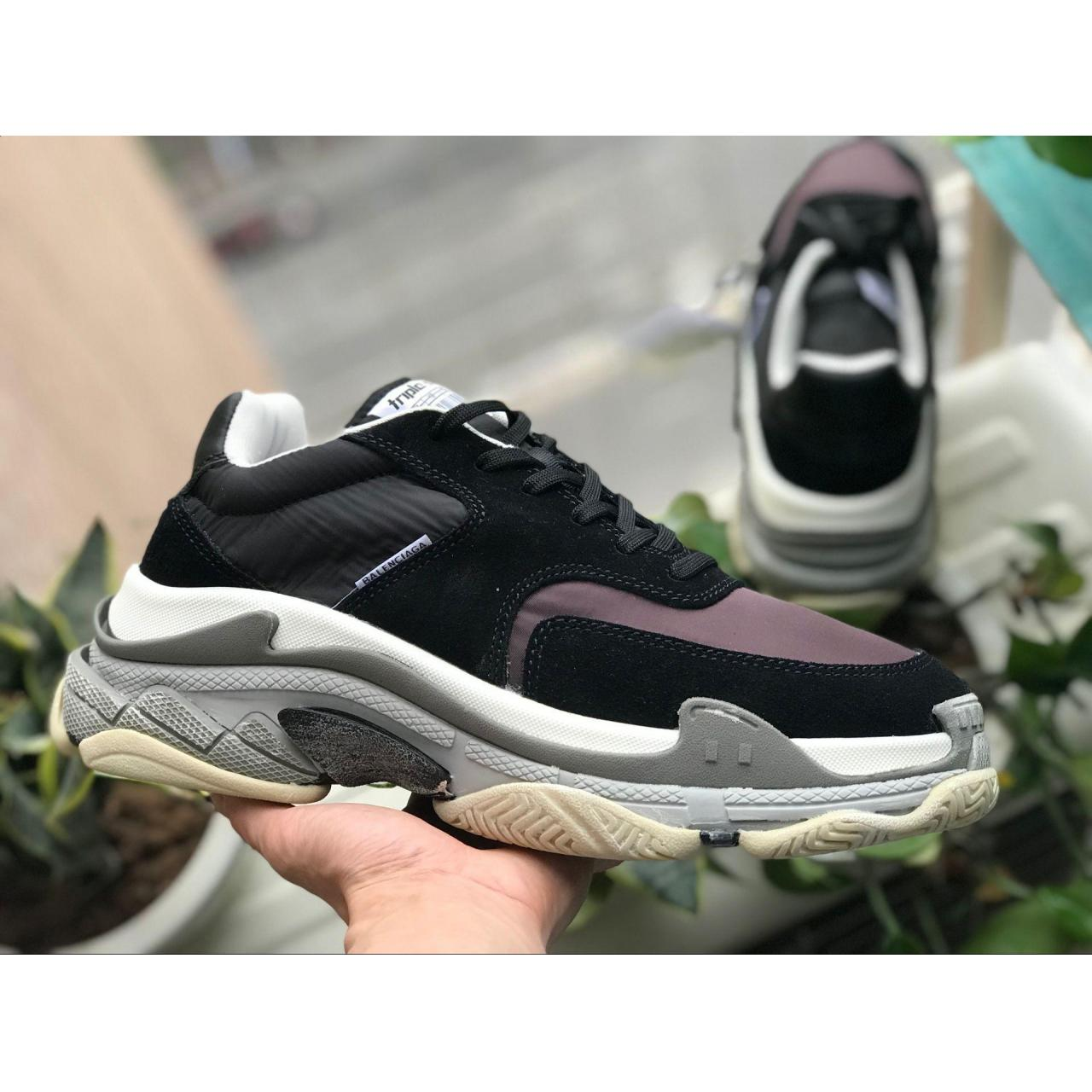 Buy cheap 2019 High End Balenciaga Triple S Sneakers Best Quality Black Red Speed Trainers from wholesalers
