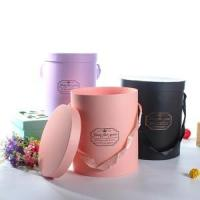 China color printed large cardboard cylinder packaging containers wholesale