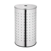 China Dailyart Stainless Steel Laundry Bin & Hamper with lid Clothes Basket V025007 wholesale