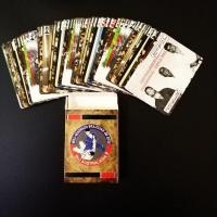 China Custom Printed 54 Different Designs Paper Playing Cards wholesale