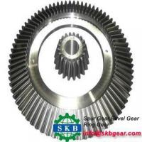 Buy cheap Alloy Steel Oil Drilling Rig Transmission Part Helical Bevel Gears from wholesalers