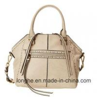 China Fashion Studs Detail PU Leather Designer Handbag (ZXS0091) on sale