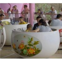 China Family Rides 72 seats tea cup ride wholesale