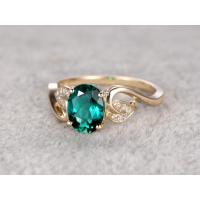 Engagement Rings emerald-ring-001