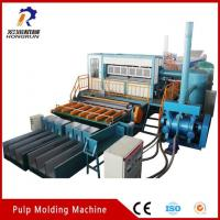 China Pulp Tray Machine Paper Pulp Molding Machine for Making Egg Tray wholesale