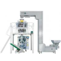 Pouch forming packing machine for large granule