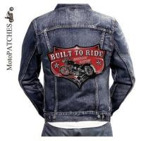MotoPATCHES Motorcycle Jacket Biker Vest Patches For Clothing Iron Embroidery Patches