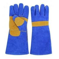 cow split leather work glove FSD202-2A