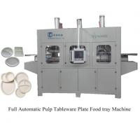 China Fully Automatic Pulp Molding Tableware Machine on sale