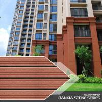 China Exterior wall tiles Hote Sale new design Exterior Cladding wall brick tiles ALXG49896D on sale