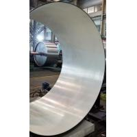 Buy cheap titanium tube inside surface be brushed plating from wholesalers