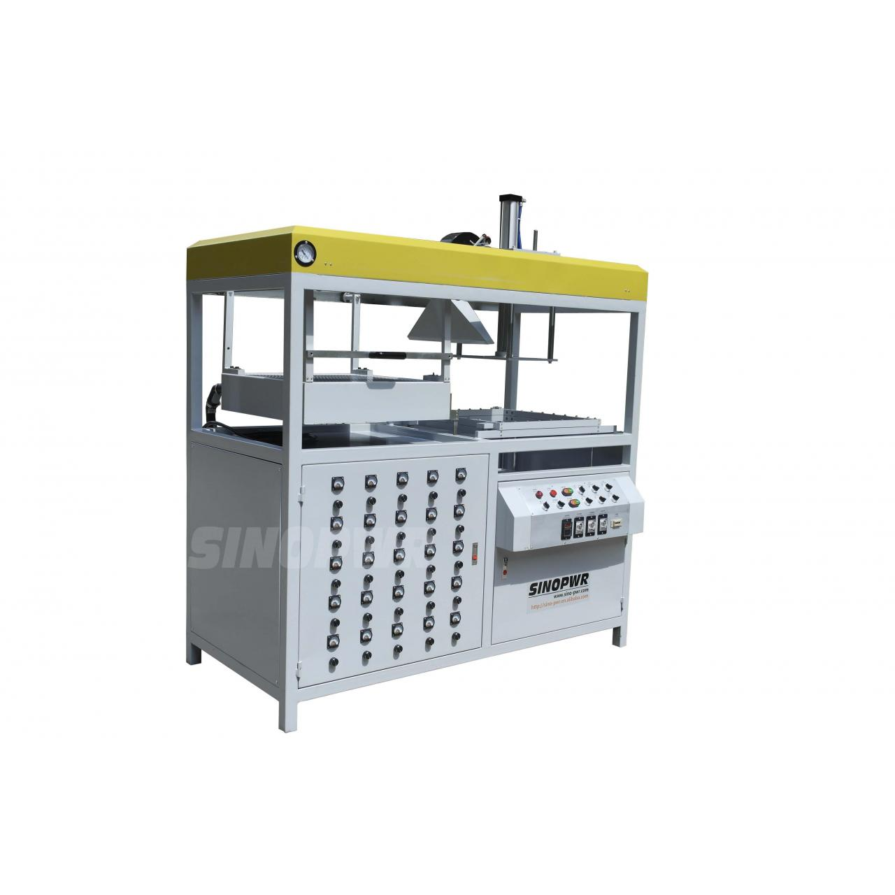 Blister clamshell shell/cylinder container forming machine
