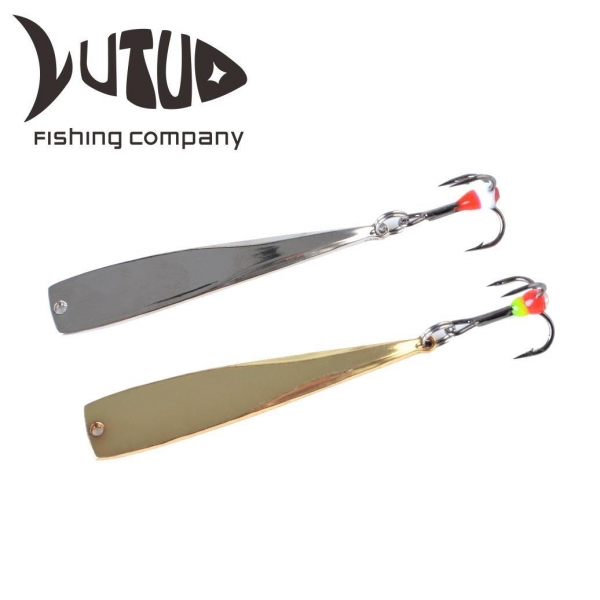Quality Ice Fishing Spoon Jigging Metal Lure Tungsten Ice Fishing Jigs for sale