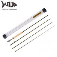 Buy cheap Rod Fishing Carbon Fiber Durable PVC Rod Tube Chromed Guide Accurate Placement Fly Fishing Rod from wholesalers