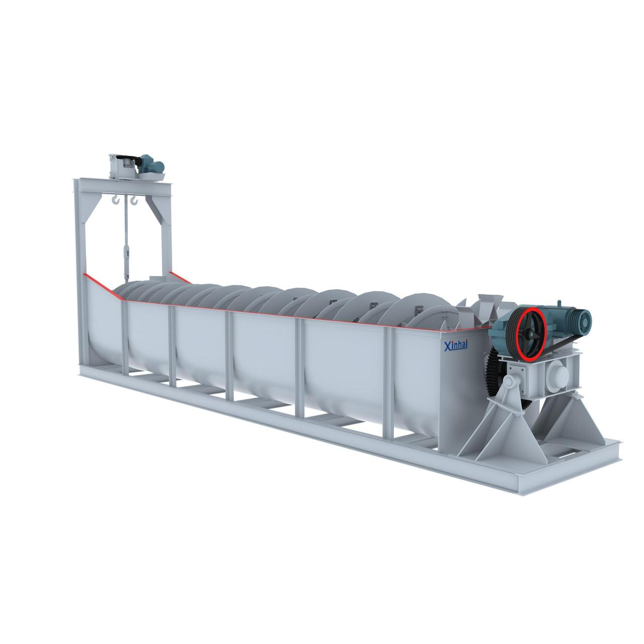 Buy cheap Thickening & Dewatering High Weir Spiral Classifier from wholesalers