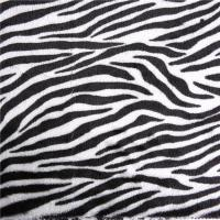 Buy cheap POLAR FLEECE FABRIC Printed short pile faux fur cheap fabric for Underwear from wholesalers