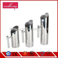 China 3 sizes stainless steel restaurant water pitchers on sale
