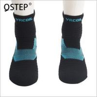 China High quality oem customize breathable comfortable crazy basketball sport mens crew socks wholesale