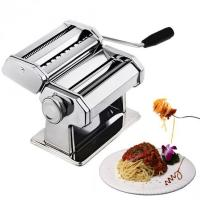 China CHEFLY Sturdy Homemade Pasta Maker 9 Thickness Settings for Fresh Fettuccine Spaghetti Noodle Roller wholesale