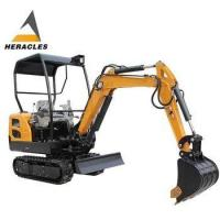 Buy cheap Shandong Heracles mini crawler excavator low price for sale from wholesalers