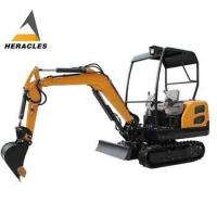 Buy cheap Shandong Heracles mini crawler excavator low price used yanmar engine from wholesalers