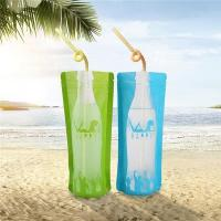 China Juice Bag Transparent Plastic Drinking Packaging Bag wholesale