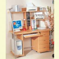 China Computer Desk with CPU Shelf, Measuring 1,260 x 630 x 1,460mm wholesale