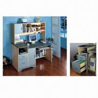 Buy cheap Computer Desk/Workcenter with CD Storage Rack from wholesalers